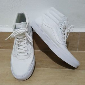 Shoes - Van's all white high tops
